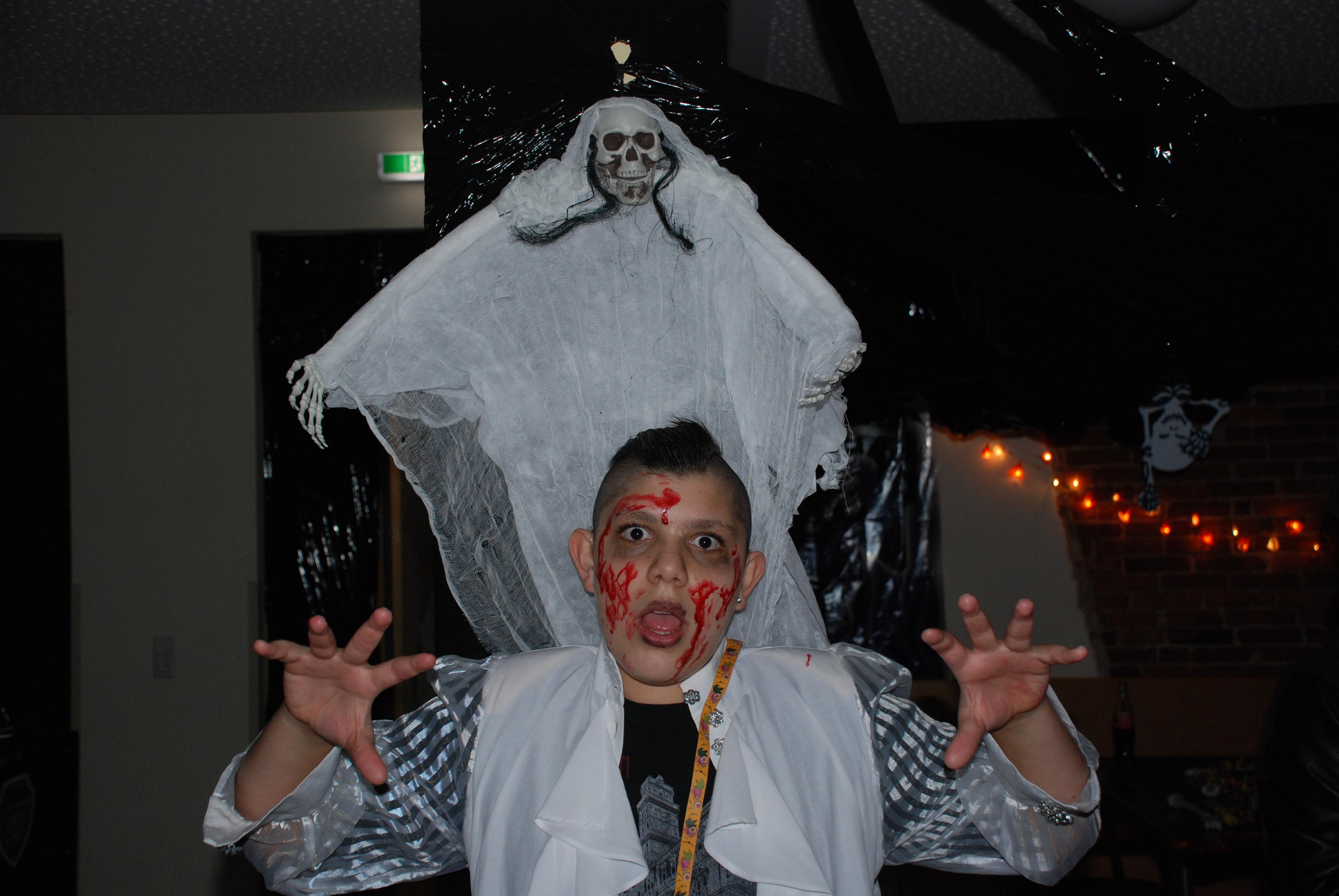 Halloween-Party in Kooperation mit dem Bürgerverein Bloherfelde ...